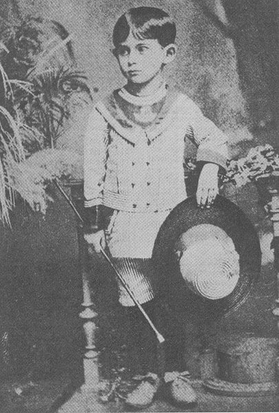 Franz Kafka Born On July 3 1883 Was Only Four Years Old In The Photo Above But Already Bore Markings Of Great Writer He Became