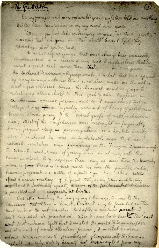 the great gatsby pdf scribner