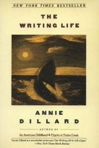 """essays written by annie dillard """"nature writing: i seldom read it myself  you cannot get through a dillard essay  without running into one of these boring natural phenomena."""