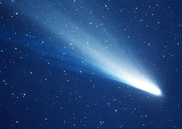 Halley's Comet, poem by Stanley Kunitz