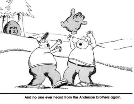 Far Side Comics Bears