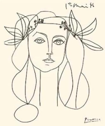 Pablo-Picasso-Head-Of-A-Woman--Silkscreen-print--7569