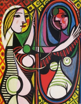 picasso GIRL BEFORE A MIRROR _thumb