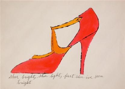 Andy_Warhol_Shoe_Bright_Shoe_Light_604