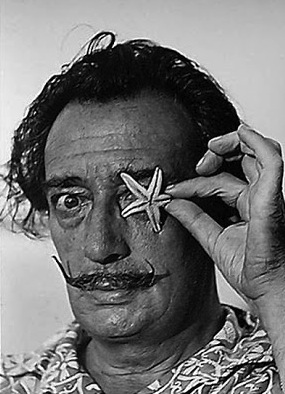 self-portrait as Salvador Dalí, poem by Jax NTP (Self-Portrait ...