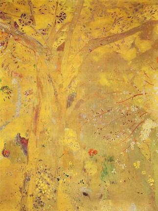 tree-against-a-yellow-background-1901