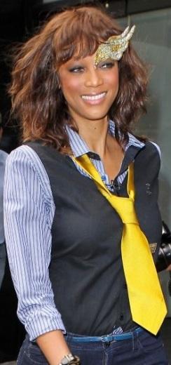 Tyra Banks smize mask courtesy of WENN