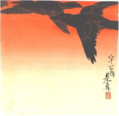 crows-fly-by-red-sky-at-sunset-1880