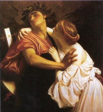 Frederic Leighton - Orfeo ed Euridice 1864