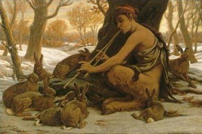 Marsyas_Enchanting_the_Hares,_Elihu_Vedder,_1899
