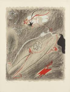Childbirth 1955 by André Masson 1896-1987