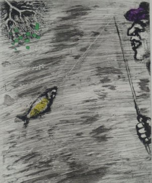 Marc_Chagall_The_Little_Fish_and_the_Fisherman_81