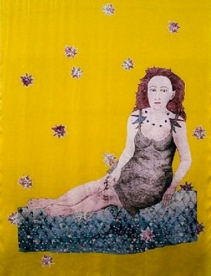 sitting-with-snake-self-portrait-2007