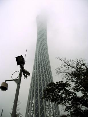 Miodrag Kojadinovic  Guangzhou Tower, monsoon midst
