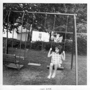 Terri on Swing