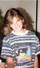Jen with a perm