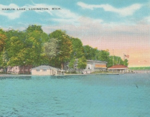 postcard hamlin lake1