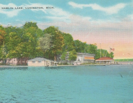 postcard hamlin lake1