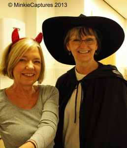 Hallowe'en Devil & Witch