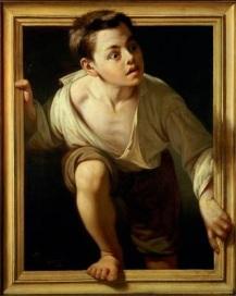 Escaping Criticism by Pere Borrell del Caso (1874)