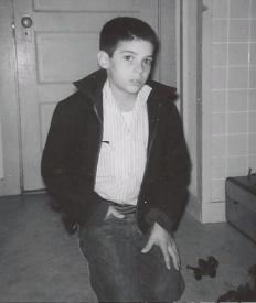 Paul Fericano at nine years old in SF (circa 1960)