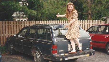 Sarah with Buick