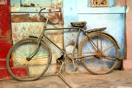 old vintage bicycle in india
