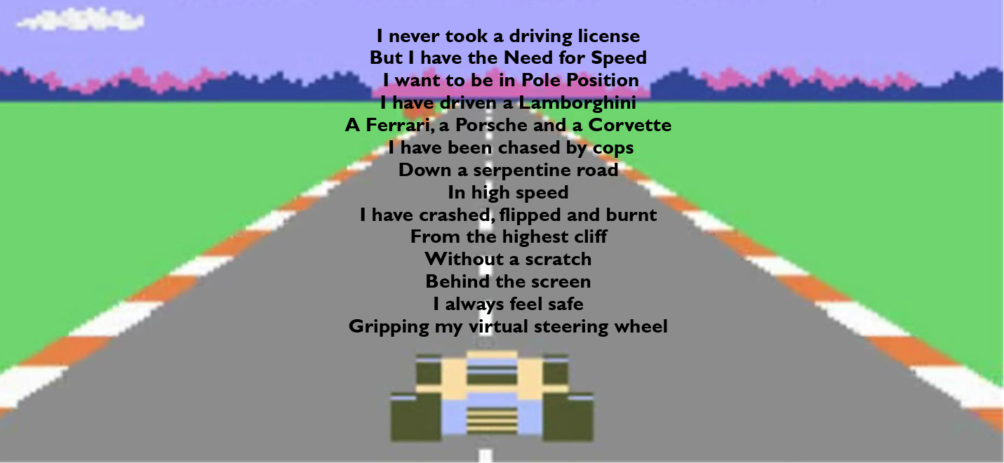 Poems about cars and speed
