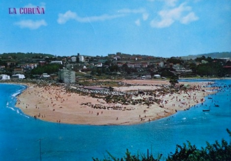 lacoruna postcard