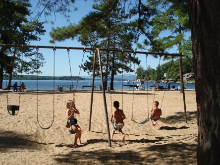 gilford beach swingset