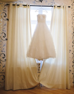 Wedding Dress at Home