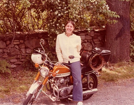 norma-on-her-honda-175