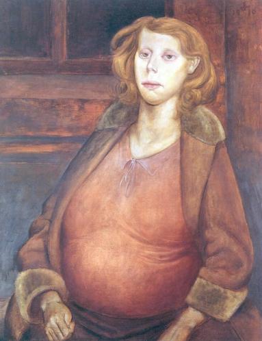 pregnant woman otto dix