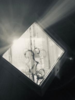 door diamond window