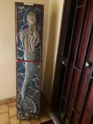 front door mermaid
