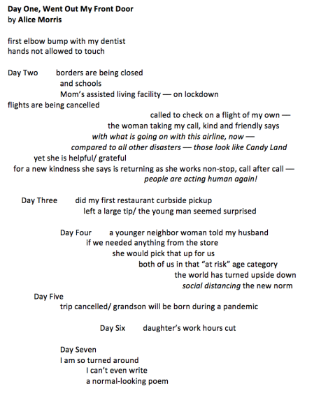 morris poem