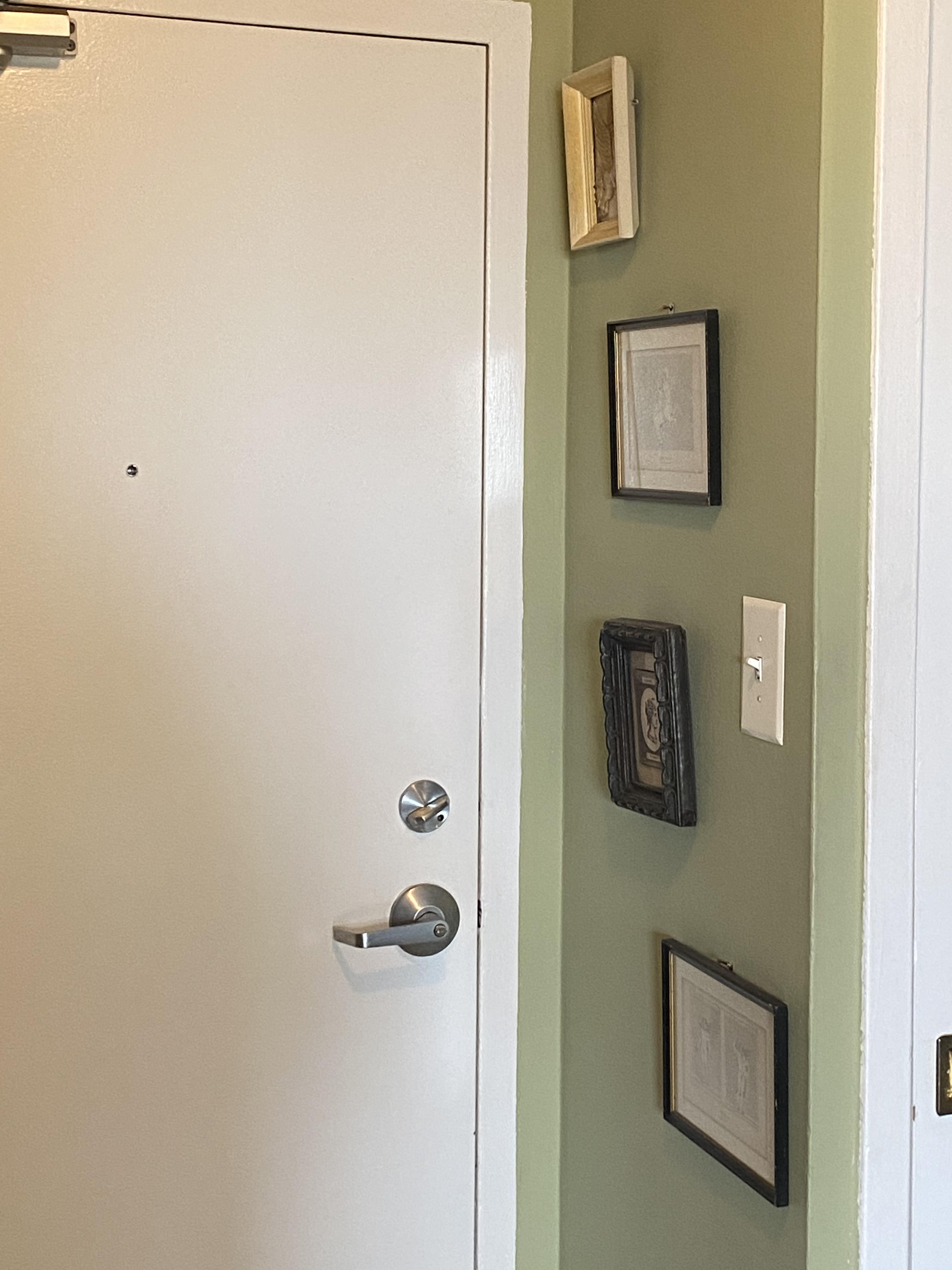 My Front Door with Art