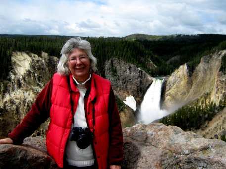 Karla Linn Merrifield at Yellowstone