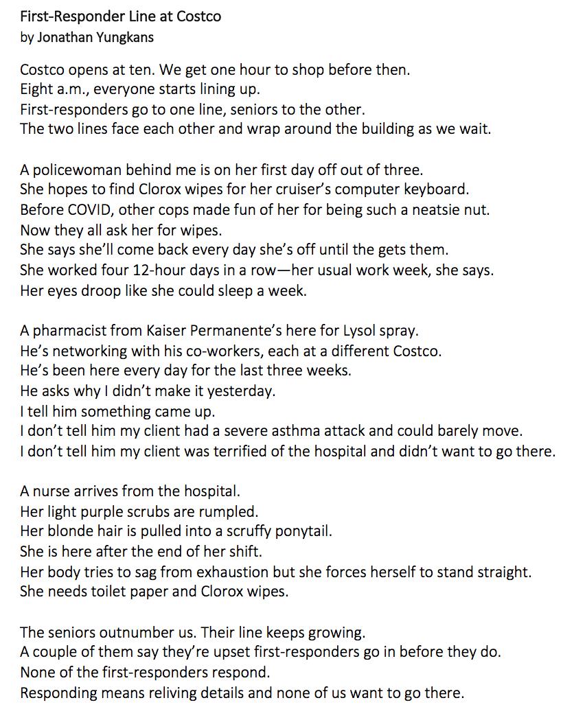 text poem