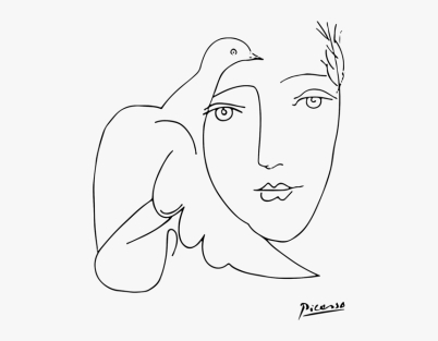 1950 picasso-face-dove-hd-png-download copy