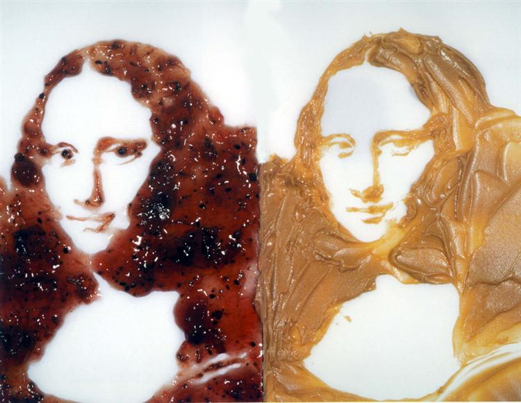 double-mona-lisa-peanut-butter-and-jelly-after-warhol-1999.jpg!Large