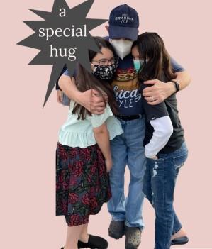 Debs1 a special hug