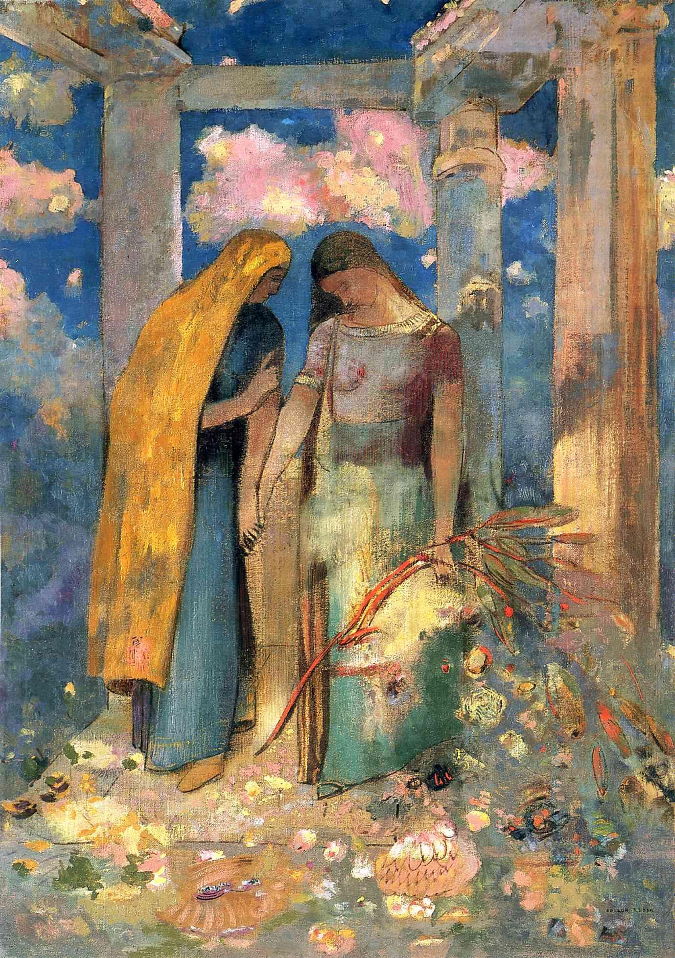 mystical-conversation redon