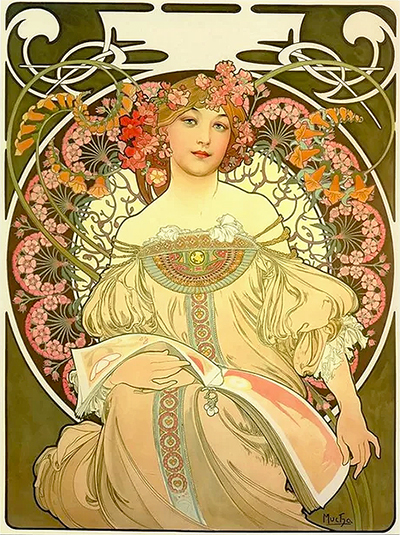 Reverie Alphonse Mucha 1897