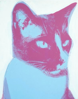 cat by warhol 1976