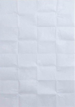work-no-384-a-sheet-of-paper-folded-up-and-unfolded-2004 copy